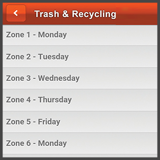 Image of My Waste App Address