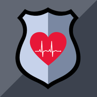 heart with shield