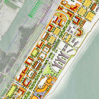 North Beach Map
