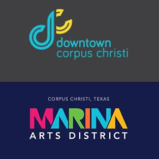 DOWNTOWN CORPUS CHRISTI / Marina Arts District Logo