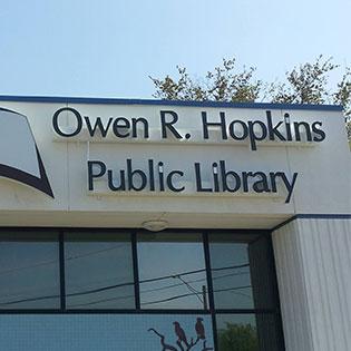 Owen R. Hopkins Public Library