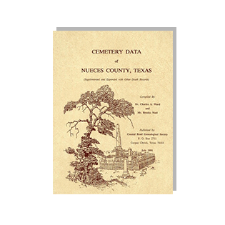 Book cover of Cemetery Data of Nueces County, Texas