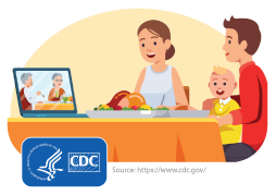 CDC Image of Family on Video Call