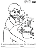 Preview of Handwashing Boy