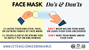 Preview of Face Mask Do's and Don'ts
