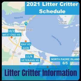 2021 Litter Critter Schedule: Litter Critter Information